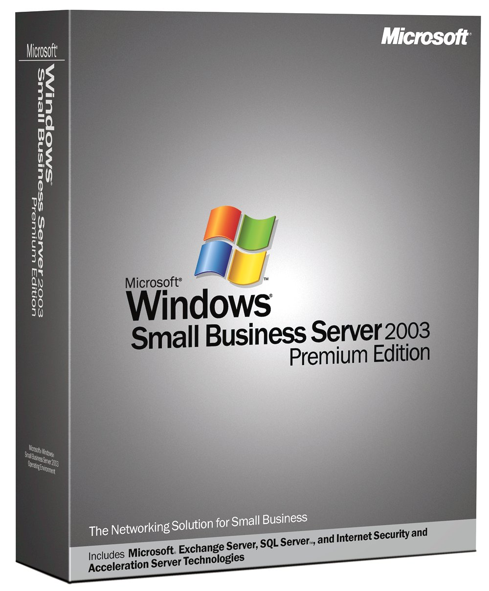 New microsoft windows small business server 2003 premium for New windows products