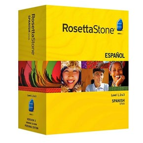 Rosetta Stone Spanish (Spain) Level 1, 2, 3, 4, 5 Set Product Key