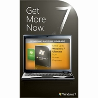 Windows 7 Professional to Ultimate Anytime Upgrade