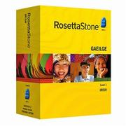 Rosetta Stone Irish Level 1, 2, 3 Set